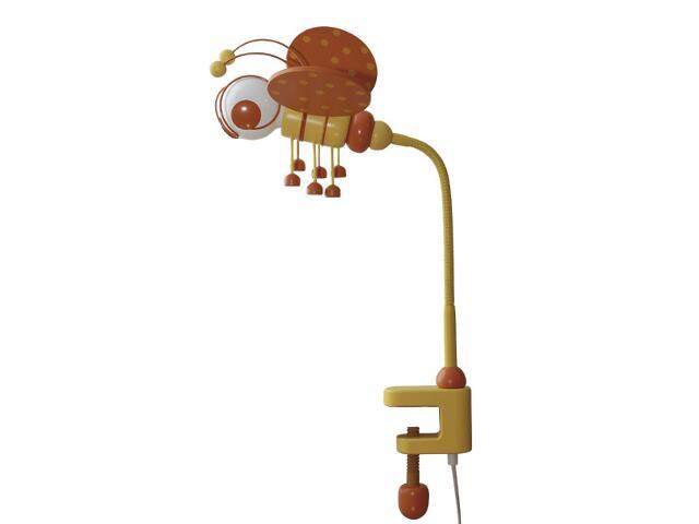 Lampa dziecięca stojąca Pszczółka klema 030304 pomarańczowo-żółta Klik