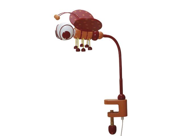 Lampa dziecięca stojąca Pszczółka klema 030305 czerwono-pomarańczowa Klik