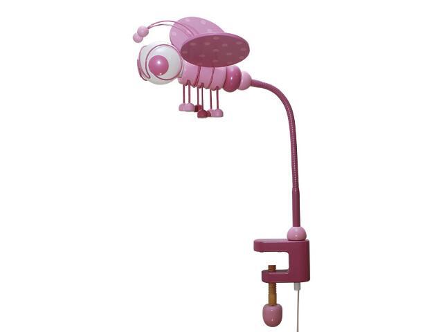 Lampa dziecięca stojąca Pszczółka klema 030306 fioletowo-różowa Klik