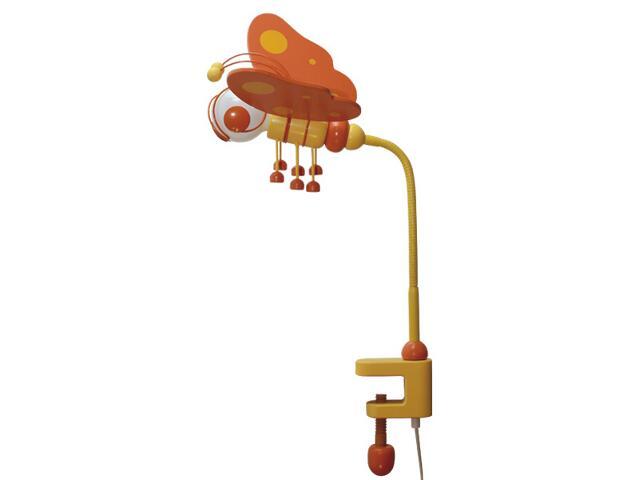 Lampa dziecięca stojąca Motyl klema 030604 pomarańczowo-żółta Klik