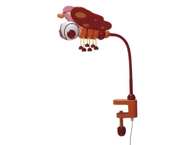Lampa dziecięca stojąca Motyl klema 030605 czerwono-pomarańczowa Klik