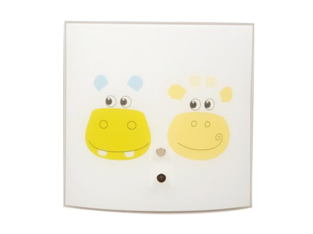 Kinkiet dziecięcy Hippo 1xE14 60W 4140140 Spot-light