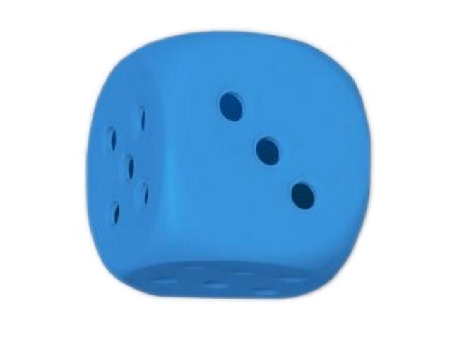 Kinkiet dziecięcy KOSTKA DO GRY niebieski 5348 Cleoni
