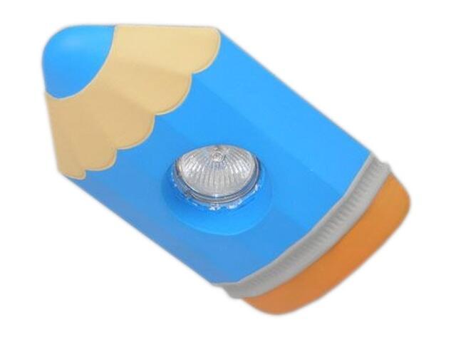 Oprawa punktowa dziecięca KREDKA niebieska oczko stropowe halogenowa 5357 Cleoni
