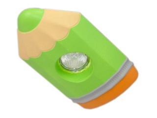 Oprawa punktowa dziecięca KREDKA zielona oczko stropowe 5358 Cleoni