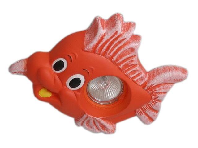 Oprawa punktowa dziecięca RYBKA czerwona oczko stropowe 5362 Cleoni