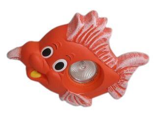Oprawa punktowa dziecięca RYBKA czerwona oczko stropowe halogenowa 5363 Cleoni