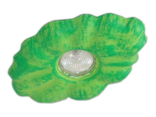 Oprawa punktowa dziecięca CHMURKA zielona oczko stropowe halogenowa 5377 Cleoni