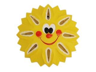 Kinkiet dziecięcy SŁOŃCE żółty 5388 Cleoni