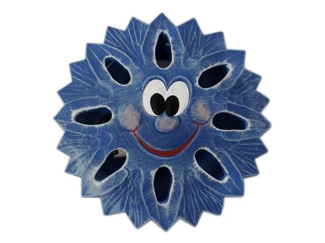 Kinkiet dziecięcy SŁOŃCE niebieski 5401 Cleoni