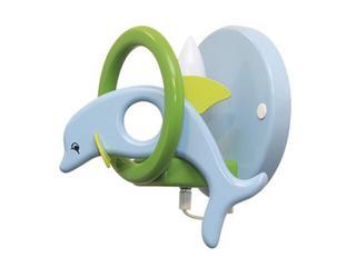 Kinkiet dziecięcy Delfin 0402.03 niebiesko-zielony Klik