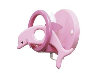 Kinkiet dziecięcy Delfin 0402.04 różowo-fioletowy Klik