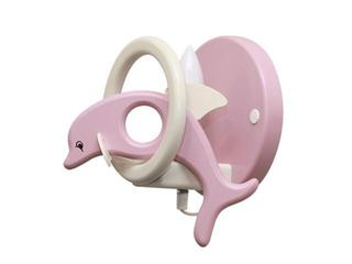 Kinkiet dziecięcy Delfin 0402.05 różowo-biały Klik