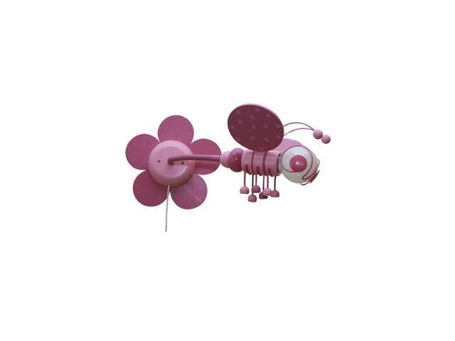 Kinkiet dziecięcy Pszczółka 0302.06 fioletowo-różowy Klik