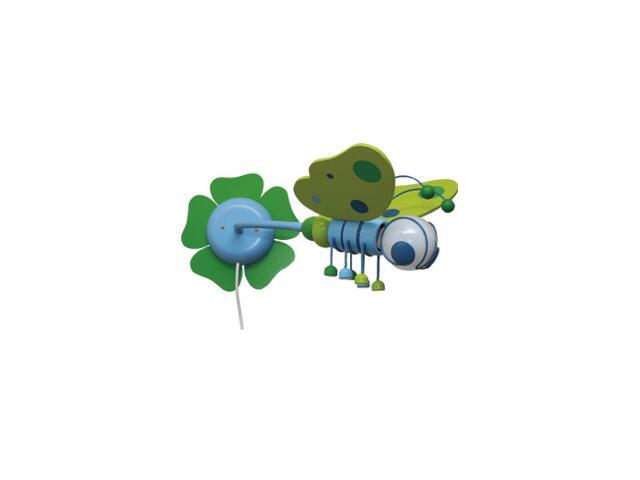 Kinkiet dziecięcy Motyl 0305.01 zielono-niebieski Klik