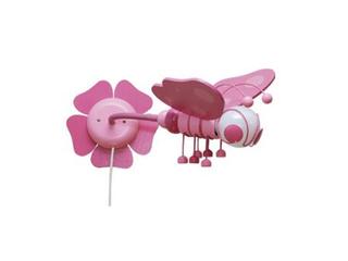 Kinkiet dziecięcy Motyl 0305.06 fioletowo-różowy Klik