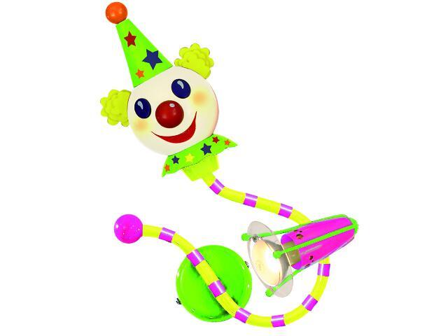Kinkiet dziecięcy Clown E14 40W + E14 25W 50060-2 Reality