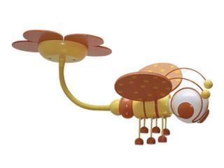 Plafon dziecięcy Pszczółka 0301.04 pomarańczowo-żółty Klik