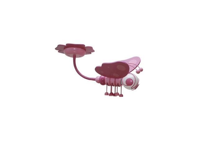 Plafon dziecięcy Motyl 0304.06 fioletowo-różowy Klik