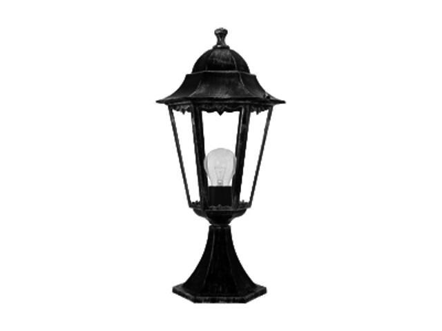 Lampa ogrodowa stojąca ESTA GARDEN 100W E27 48cm 4304 czarna ANS