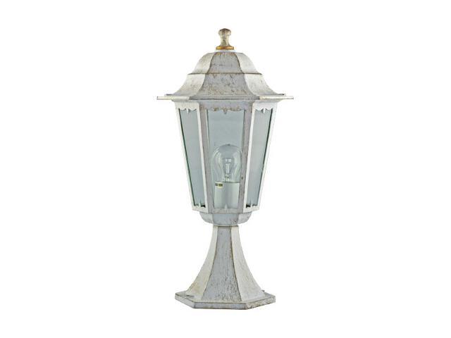 Lampa ogrodowa stojąca Esta biało-złota 100 W 1OR2311BIZ ANS