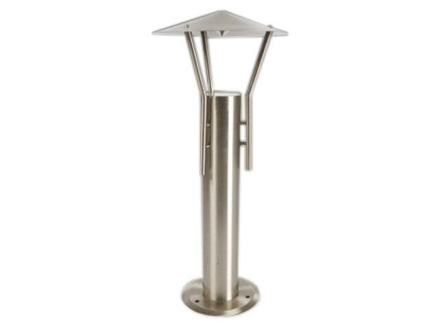 Lampa ogrodowa stojąca CROSO 45 stal nierdzewna Brilum