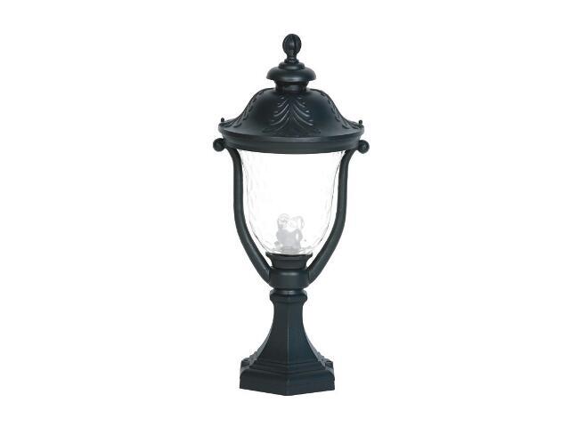 Lampa ogrodowa stojąca mała GARDENIA SM 100W 1xE27 czarna Sanneli Design