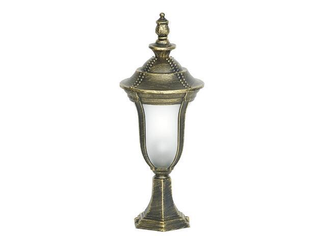 Lampa ogrodowa stojąca FUKSJA SM 100W 1xE27 złoto antyczne Sanneli Design