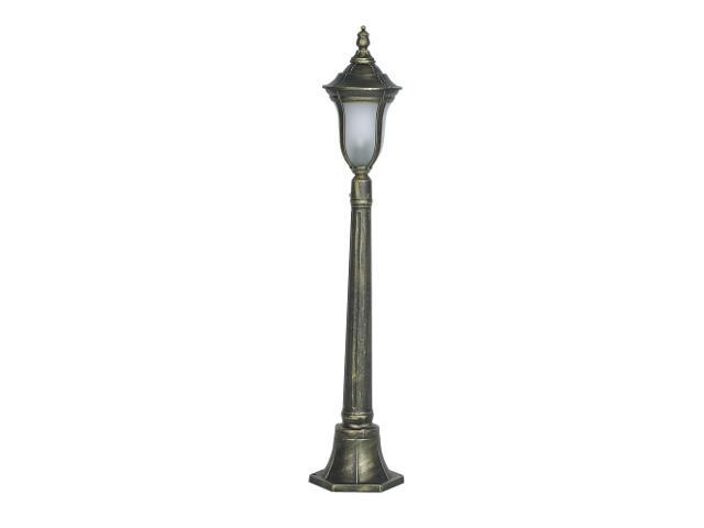 Lampa ogrodowa stojąca FUKSJA S 100W 1XE27 135cm złoto antyczne Sanneli Design