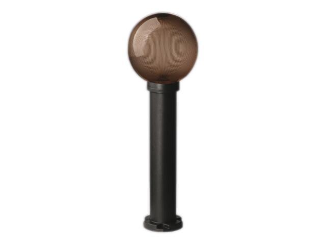 Lampa ogrodowa stojąca ASTER PLUS 200 60W klosz pryzmat.-podpalany 200mm gwint Sanneli Design