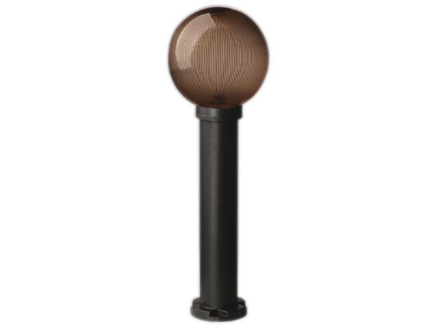 Lampa ogrodowa stojąca ASTER PLUS 900 60W klosz pryzmat.-podpalany 200mm gwint Sanneli Design