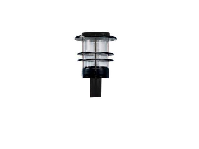 Lampa ogrodowa stojąca GARDEN ZFMs-118 1x18W 340mm odbłyśnik walec grafitowy Elgo