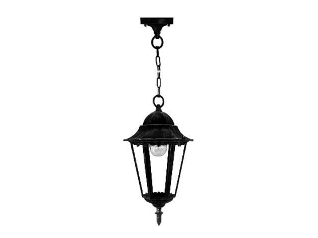 Lampa ogrodowa wisząca ESTA VERTICAL 100W E27 4305 czarna ANS