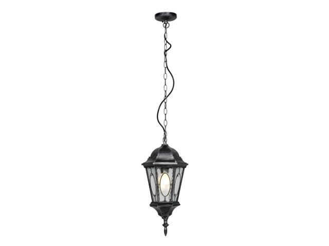 Lampa ogrodowa wisząca Kroton W 100W 1xE27 srebro antyczne Sanneli Design
