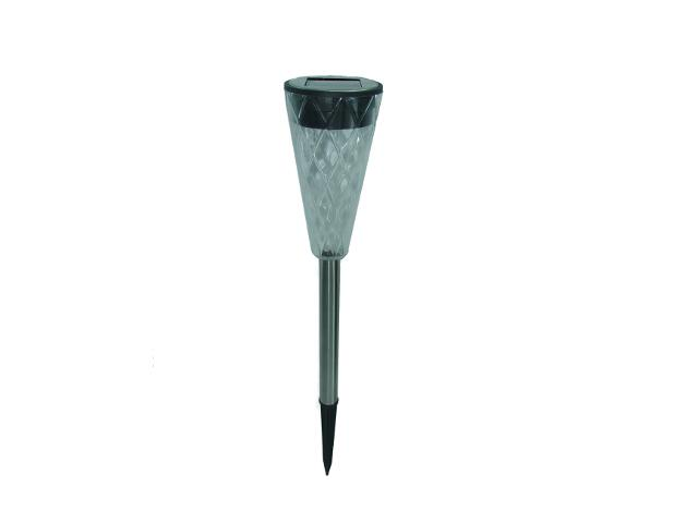 Lampa ogrodowa solarna Plastik 2 white LED OS100080 Skan