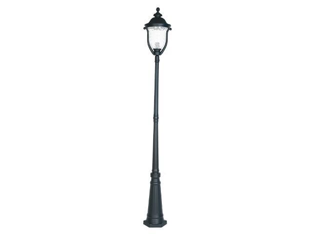Latarnia parkowa GARDENIA SD 100W 1xE27 duża czarna Sanneli Design