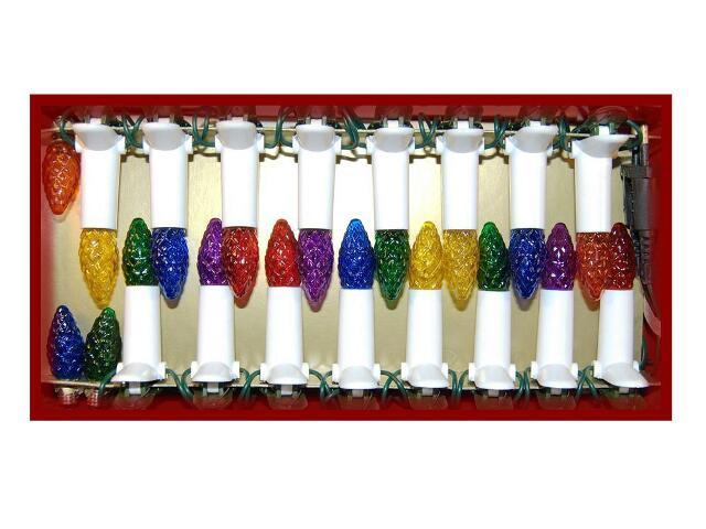 Lampka choinkowa wewnętrzna Mill-26 białe tulejki, żarówki szyszki mix Millenium
