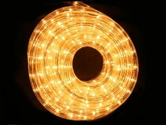 Wąż świetlny LED Rope Light diody ciepłe białe 36szt/m MK Ilumination