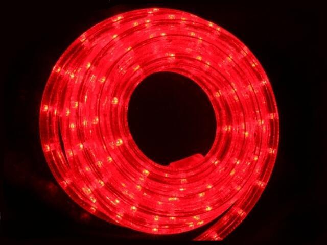 Wąż świetlny LED Rope Light diody czerwone 36szt/m MK Ilumination