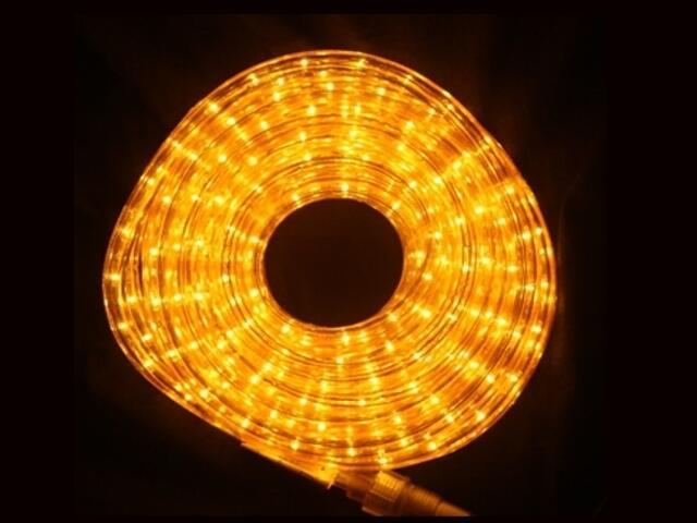 Wąż świetlny Roman Twisted żarówki bursztynowe 36szt/m MK Ilumination