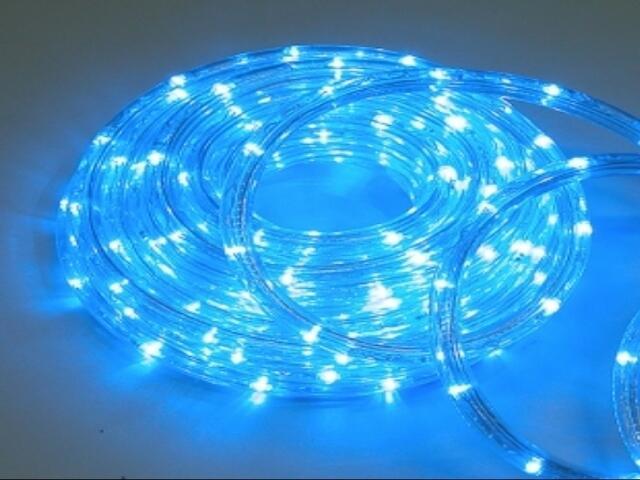 Wąż świetlny Roman Twisted żarówki niebieskie 36szt/m MK Ilumination