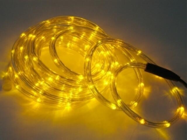 Wąż świetlny Roman Twisted żarówki żółte 36szt/m MK Ilumination