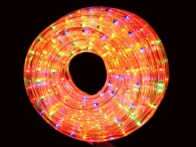 Wąż świetlny Roman Twisted żarówki kolorowe 36szt/m MK Ilumination