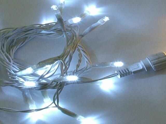 Girlanda świetlna LED String Lite 3m diody białe 114szt MK Ilumination