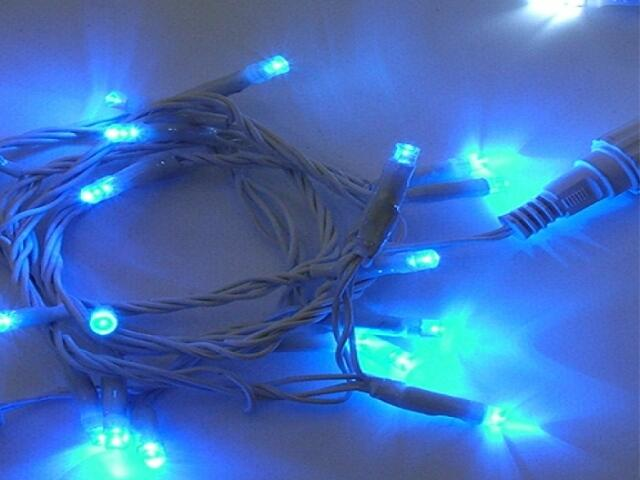 Girlanda świetlna LED DRAPE LITE 2m diody niebieskie 1200szt MK Ilumination