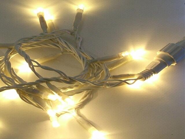 Girlanda świetlna Flashing LED ICE LITE 3m diody ciepłe białe 171szt MK Ilumination