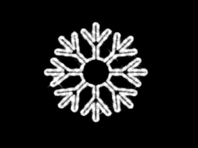 Motyw świetlny KRYSZTAŁ LODU Quick Fix ICE LED fi40cm diody białe MK Ilumination
