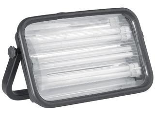Lampa warsztatowa z kablem MAGNUM 108W 230V z gniazdem schuko Lena Lighting