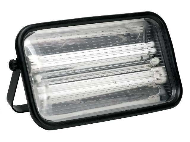 Lampa warsztatowa z kablem MAGNUM 72W 230V z gniazdem schuko Lena Lighting