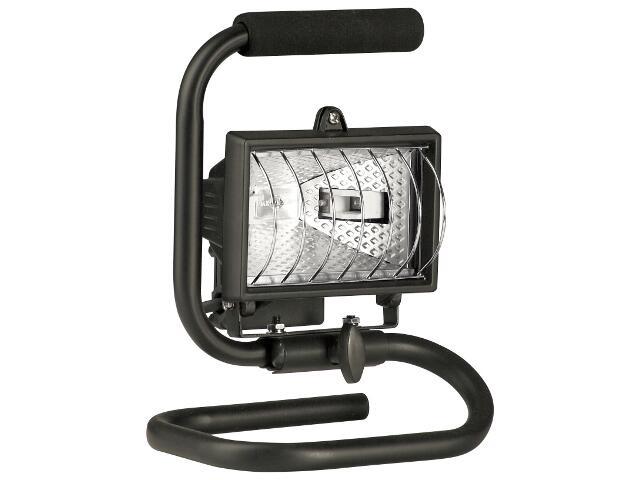 Lampa warsztatowa z kablem HLP 150W przenośna czarna Lena Lighting